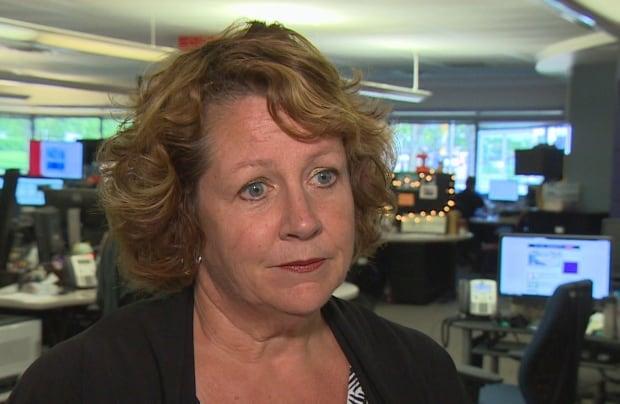 Sandi Mowat, Nurses' Union president, Winnipeg