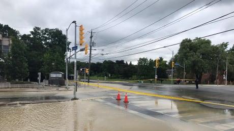 Bayview and York Mills Flooding