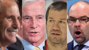 Willie Desjardins fronts Canadian Olympic hockey coaching staff