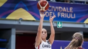 Aislinn Konig catches fire as Canada upends Latvia at FIBA U19 Women's World Cup