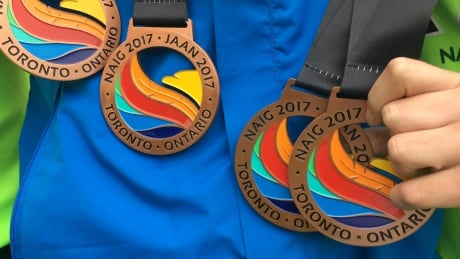NAIG medals