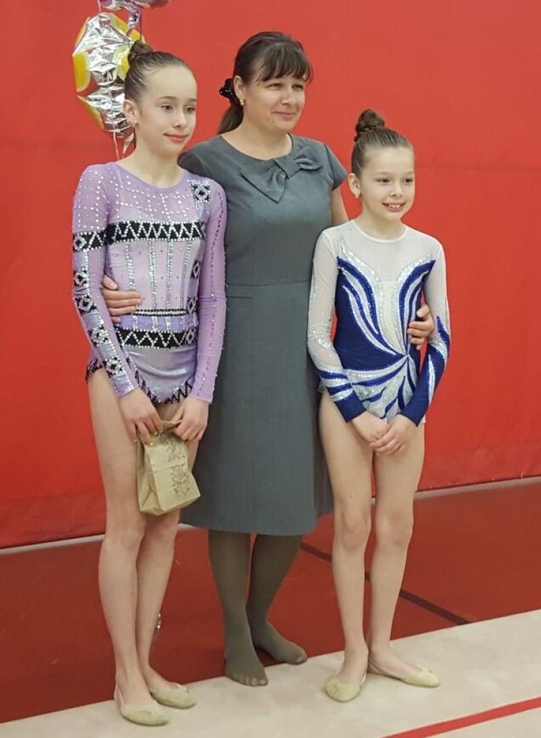 Girl gymnastics teen excellent