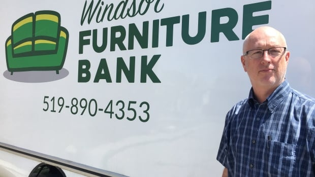 Bob Cameron is the executive director of the Downtown Windsor Community Collaborative, which helps run the Windsor Furniture Bank.