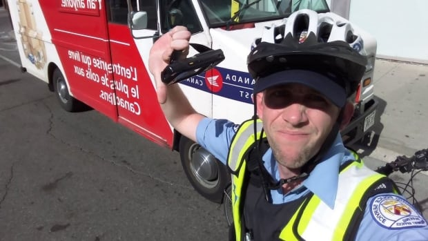 "Kyle Ashley, Toronto's parking enforcement officer who calls out bike lane invaders on Twitter says he is ""elated"" that Canada Post has vowed to keep its vehicles from parking where they shouldn't."