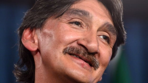 Inuit activist Jerry Natanine smiles after the Clyde River Inuit blocked seismic testing that they say would have killed marine mammals in the area, but he said he was disappointed the cause didn't get more support from Inuit organizations.
