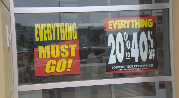 Sears Canada liquidation sale