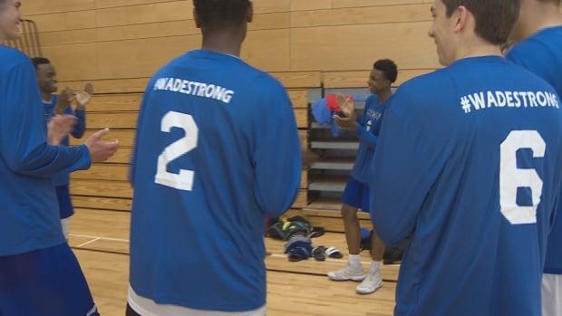 N.S. U-17 boys basketball team
