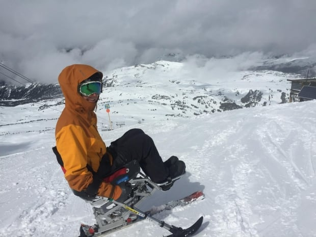 Ryan Titchener Sit Ski