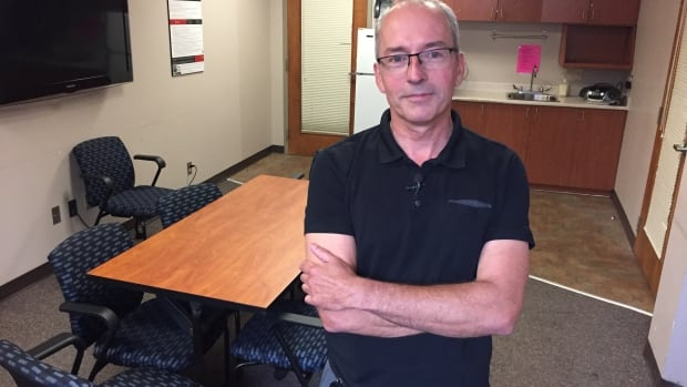 Rob Boyd of the Sandy Hill Community Health Centre stands inside the room that he hopes will be converted into Ottawa's first supervised injection site later this year.