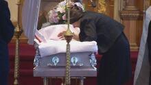 Khrystyna Maksymova's mother