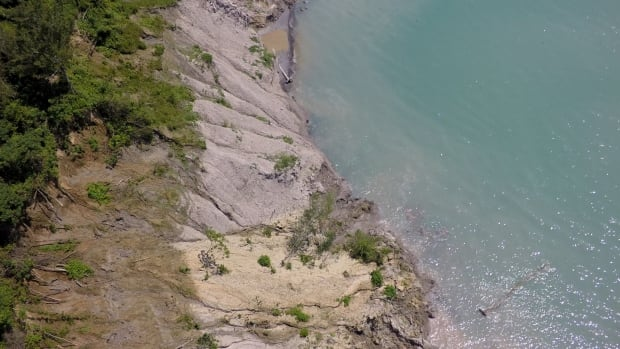 The Lake Erie shoreline in Elgin County is eroding faster than anywhere else along the body of water.