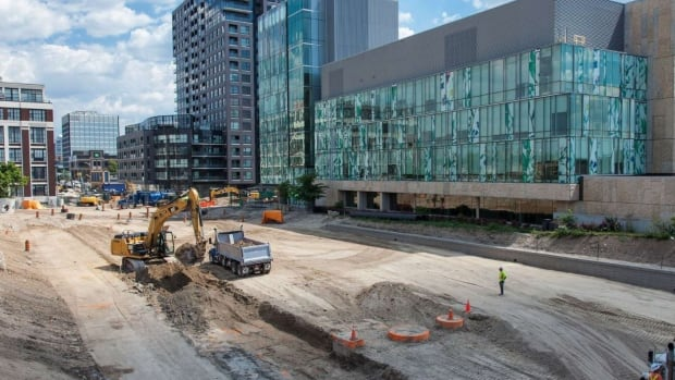 After years of closures, vehicles, cyclists, pedestrians and future LRT vehicles will be able to pass under the King Street grade separation at King and Victoria Street.
