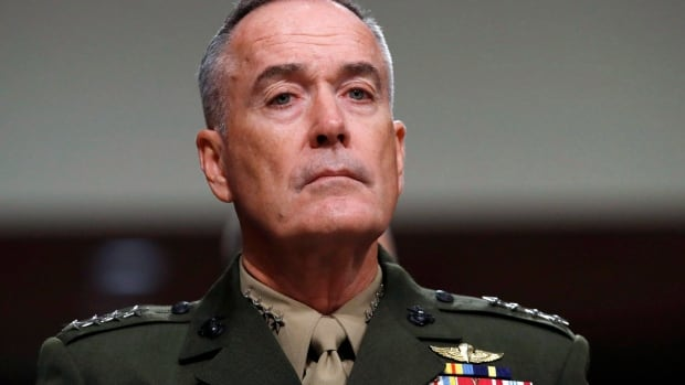 Gen. Joseph Dunford, the U.S. top military officer, says that despite an escalation in rhetoric between the U.S. and North Korea, he has not seen Pyongyang change its military posture.