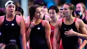 Canadian women last in free relay final at world aquatics championships