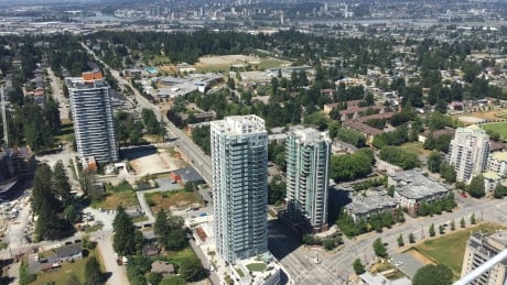 Sneak peak at Surrey's tallest building shows some great views