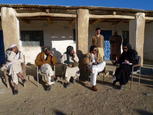 Interviews in Balochistan province, near the Afghanistan border.