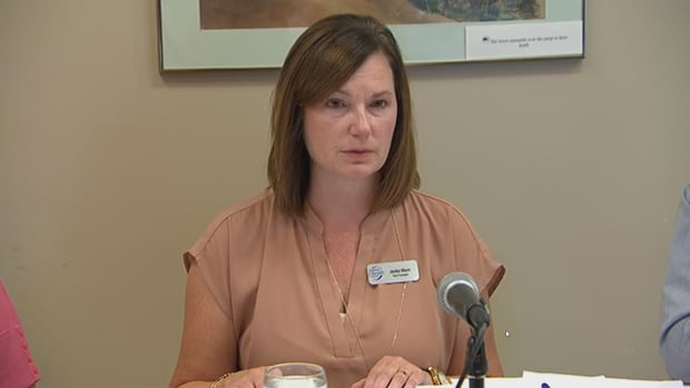 Jackie Mann with the Saskatoon Health Region apologized Thursday to women who had been pressured by health-care providers into being sterilized.