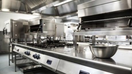 Empty kitchen, chef shortage, professional kitchen