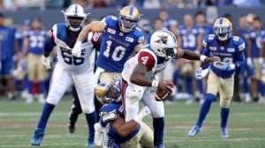 Alouettes-Blue Bombers game takes wild turn in final minutes