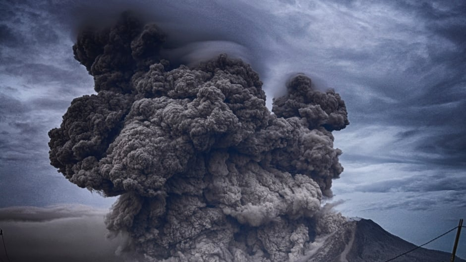 Some geoengineering strategies imitate the effects of volcanoes, like this one in Indonesia, by sending particles into the atmosphere to reflect sunlight.