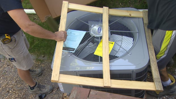 Air conditioning unit installations