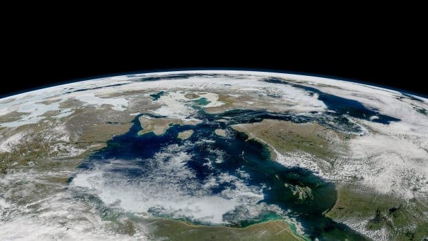 Geoengineering our planet to slow down the warming of the climate.