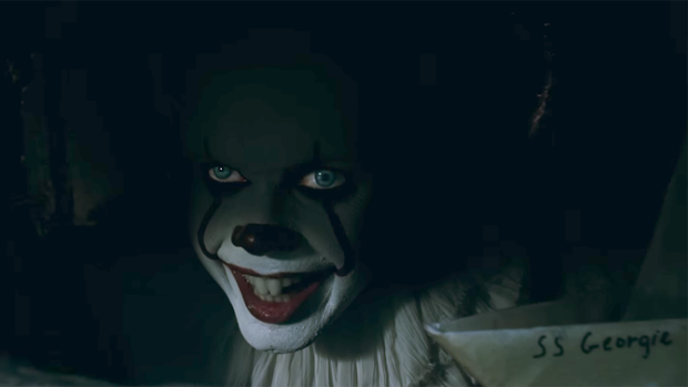 Wallpaper It Clown Bill Skarsgard Horror 2017 Hd: New It Trailer Gives First Glimpse Of Pennywise The Clown