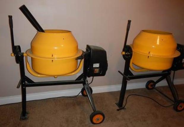 cement mixers fentanyl