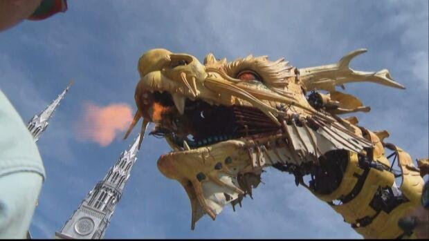 la machine long ma fire dragon horse