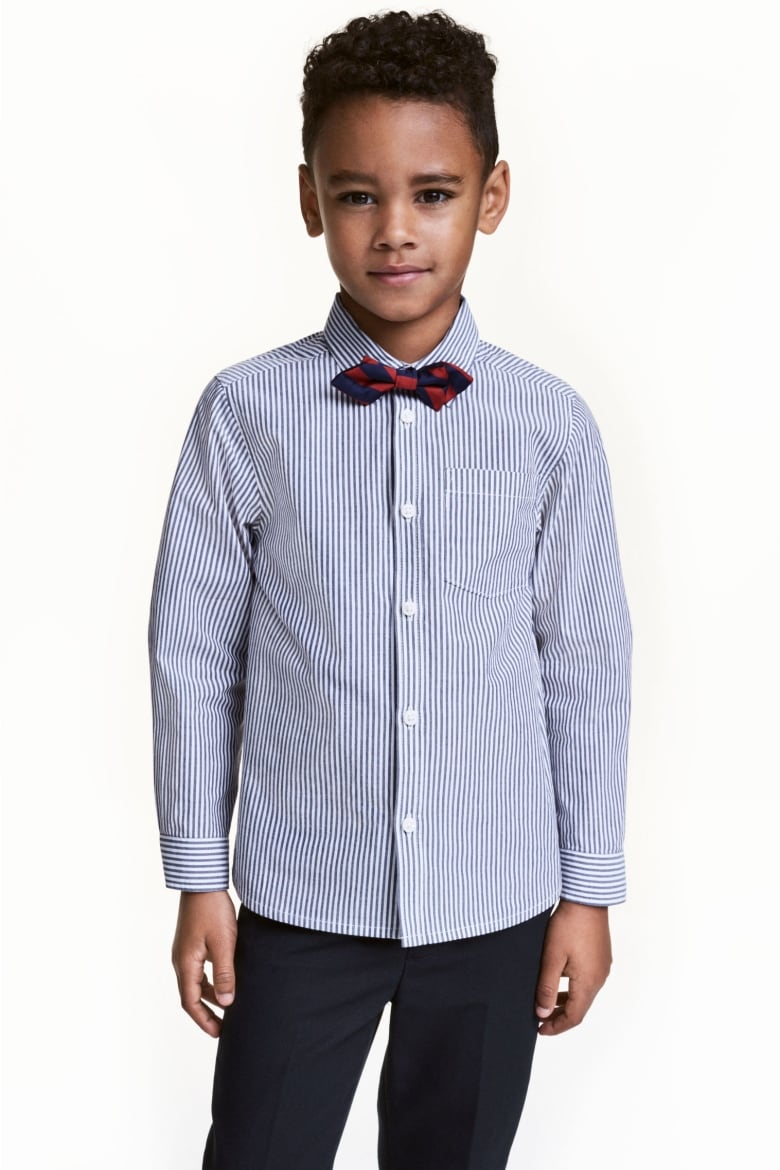14e11efcf This little shirt and bow tie combo look great together and even better  with little dress pants. But they can also be worn with skinny jeans or  little ...