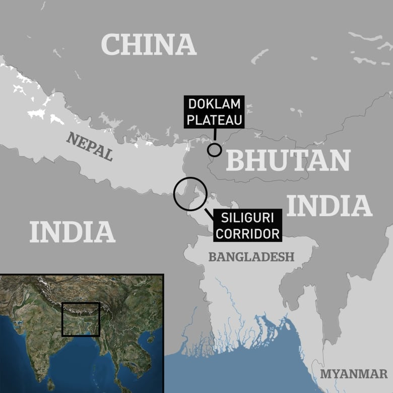 High Stakes In The Himalayas China India Standoff Fuelled By
