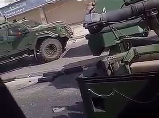 Armoured vehicles Saudi Arabia