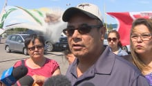 KAMAO CAPPO protest canadian tire