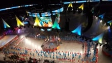 Canada Summer games opening ceremony