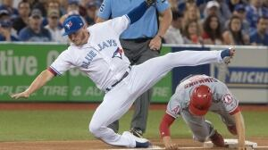 Blue Jays tripped up by Angels, win streak snapped at 4