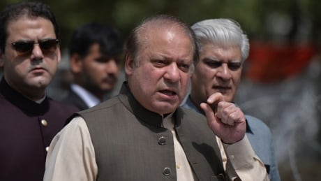 Pakistani court indicts former PM Nawaz Sharif on corruption charges