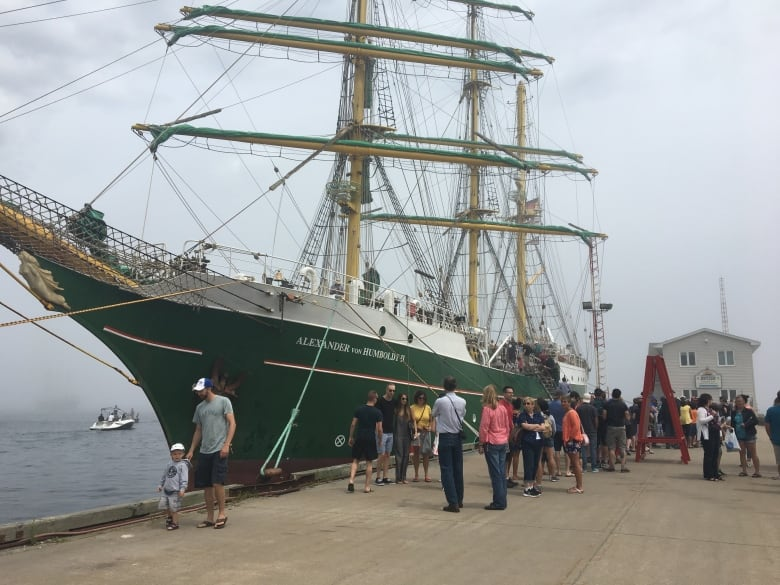 Thousands flock to Halifax waterfront for Tall Ships festival