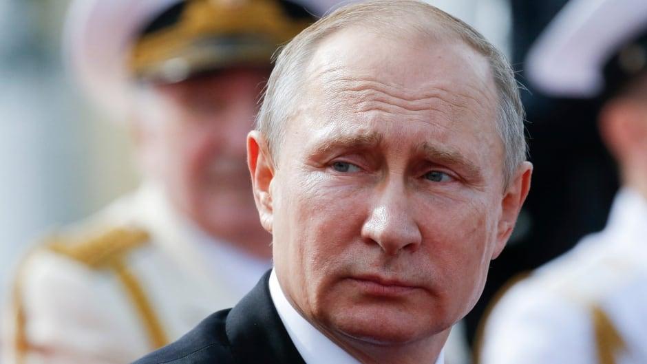 Russian President Vladimir Putin on Sunday, July 30, 2017.