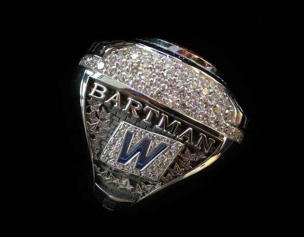 Bartman World Series Ring Baseball