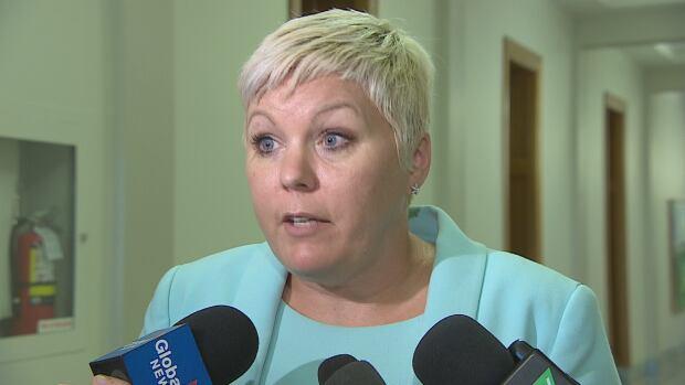 Social Services Minister Tina Beaudry-Mellor