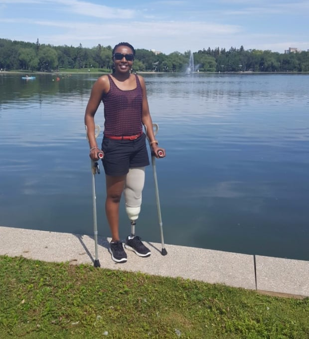 Wanjau at the lake