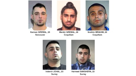 Targets of recent shootings Surrey RCMP