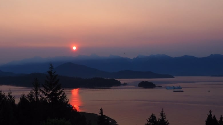 Smoky skies cover Metro Vancouver with air quality advisory in