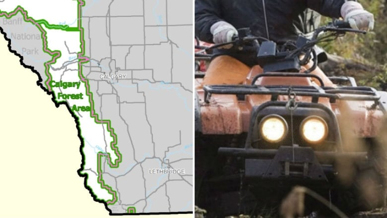 Areas You Can Atv In Southern California Map.Off Highway Vehicles Banned On Provincial Lands In Southwestern