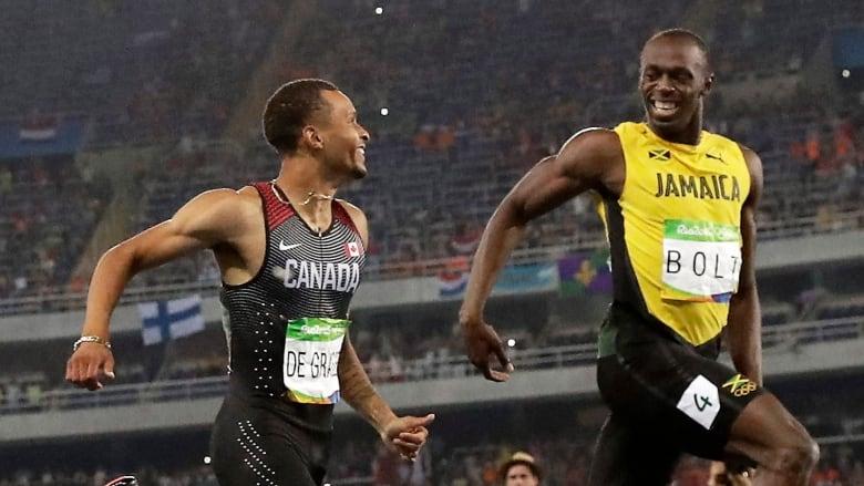 d28e6dc0519 Usain Bolt displeased with Andre De Grasse s  disrespect