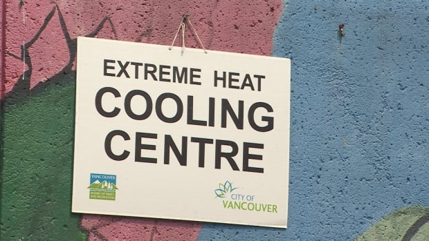 Extreme heat cooling centre