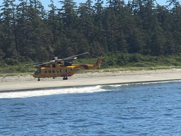 Vargas Island rescue