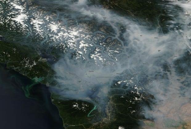 NASA Aug 1 satellite smoke