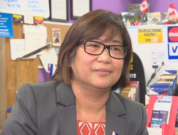 Gina Cruz-Johnson, owner Filipino-Canadian International Travel