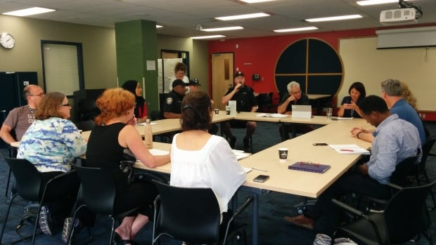 The private meeting of community stakeholders was hosted by the Pinecrest-Queensway Community Health Centre. Attendees included members of the Ottawa Police Service, Ottawa Community Housing and Community Development Framework.